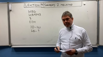 Svarers 2. melding - niveau 3
